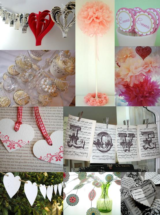 Handmade Wedding Decorations