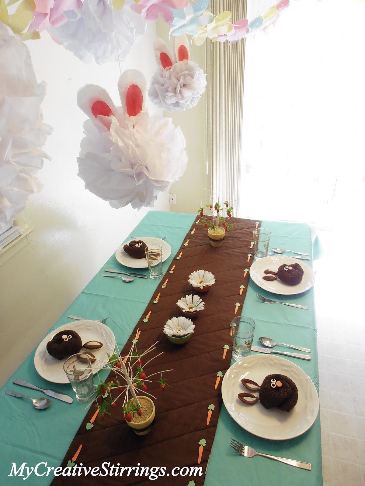 affordable easter or spring table setting with easter dinner table setting ideas & Easter Dinner Table Setting Ideas. Elegant Make Your Dining Table ...