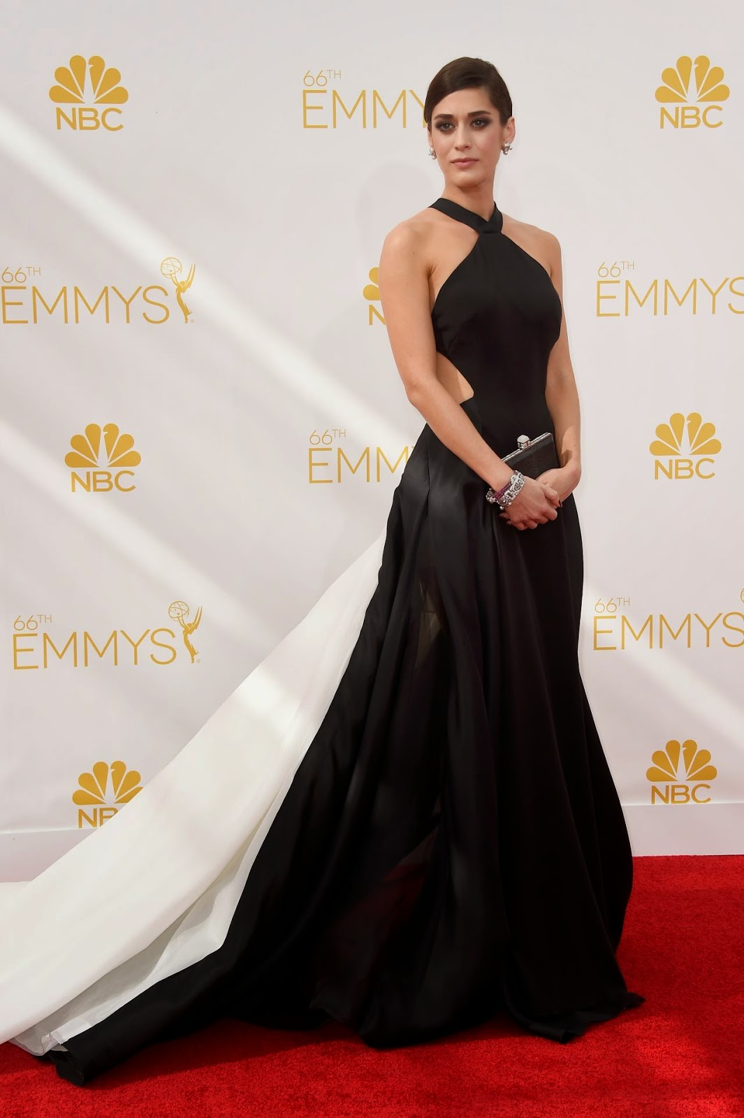 Lizzy Caplan – 2014 Primetime Emmy Awards in Los Angeles