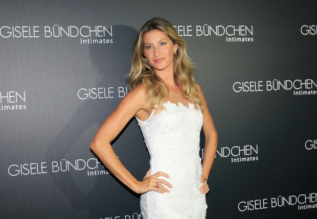 Gisele Bundchen launches lingerie collection