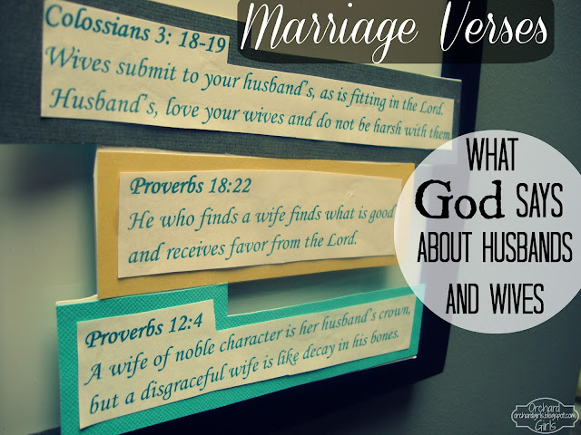 Marriage Bible Verses