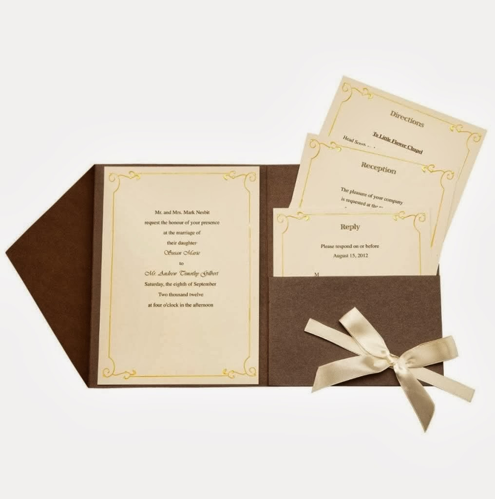Modern Wedding Invitations Homemade Wedding Invitation Kits