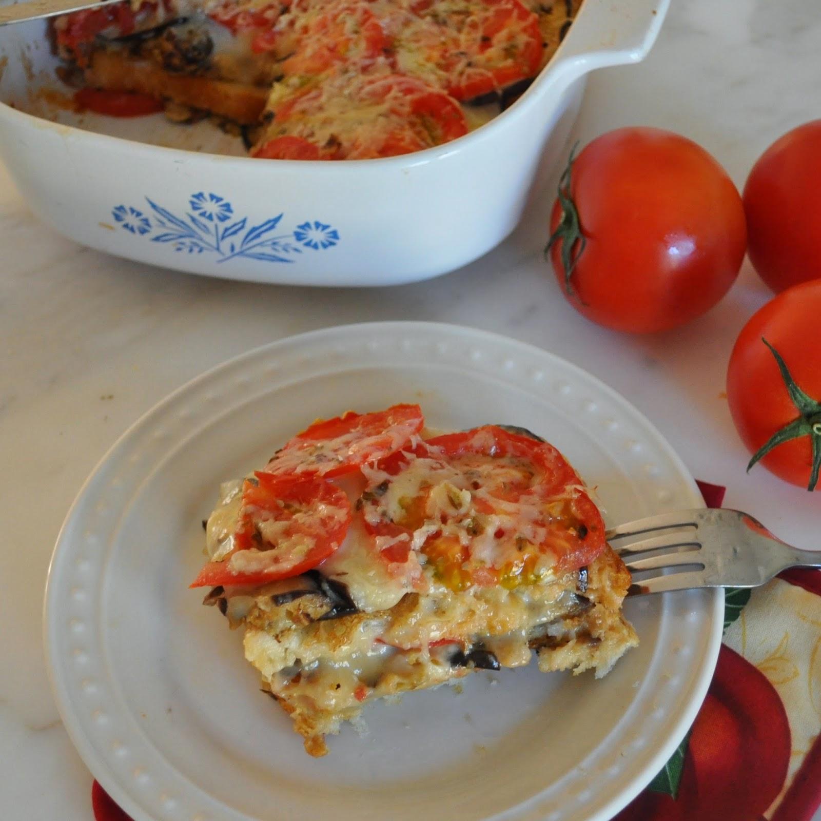 ... Manuela: Light and Fresh Eggplant Parmesan - Melanzane alla Parmigiana