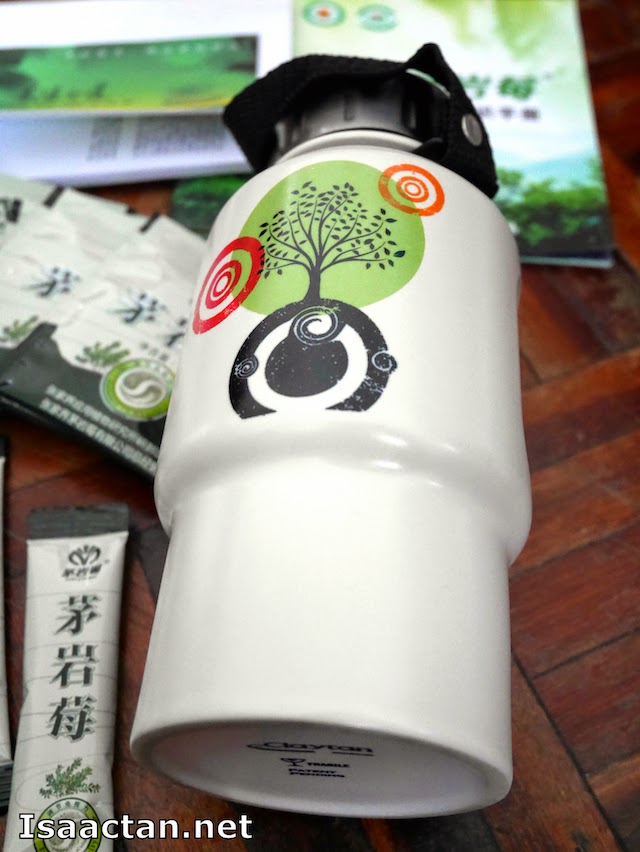 This cannister came along with the tea, where we were supposed to brew it together.