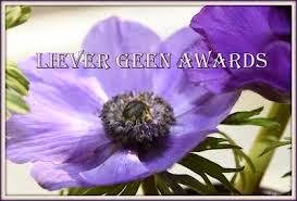 liever geen awards