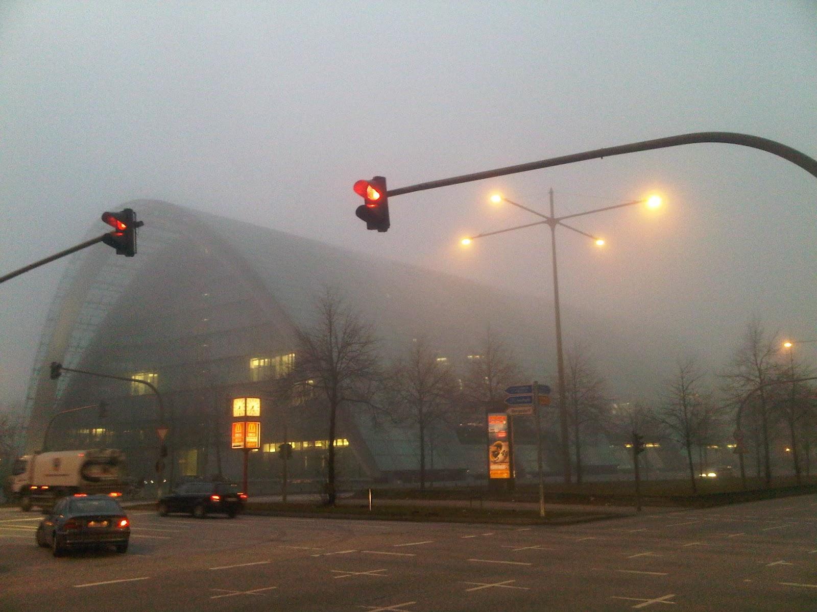 Berliner Bogen im Nebel - in the fog