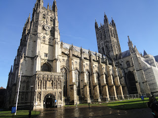 A-of Canterbury Cathedral Laura's London Adventures!: Canterbury Cathedral & Dover Castle