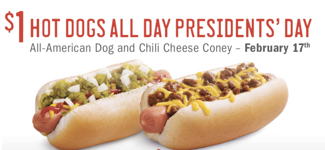 Today Only! Sonic: $1 All American or Chili Cheese Coneys! - The ...