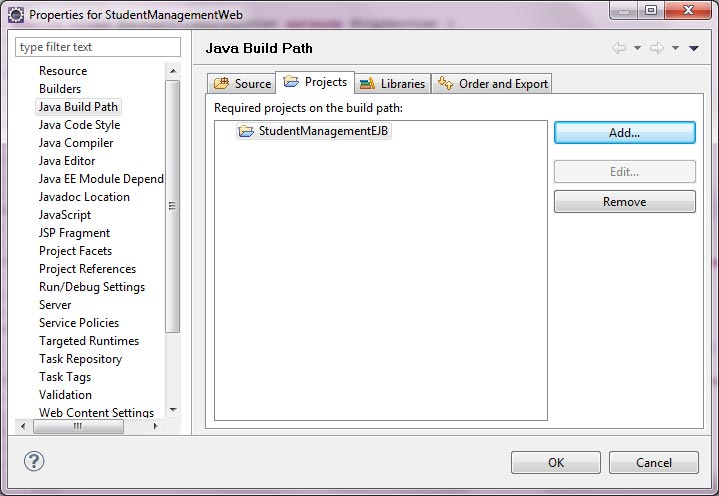 Configure build path in Eclipse