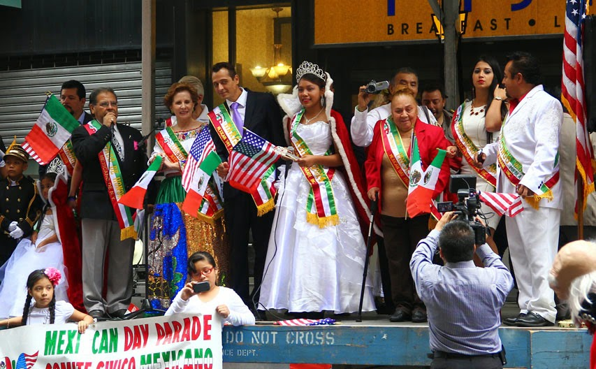 reina del desfile de Manhattan, New York USA