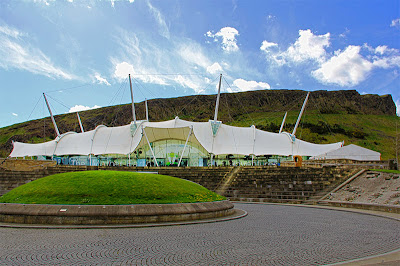 Our Dynamic Earth Edinburgh Scotland