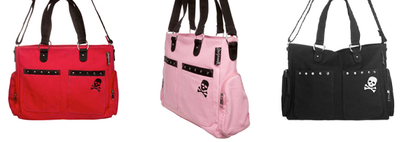 Sourpuss Studded Diaper Bags