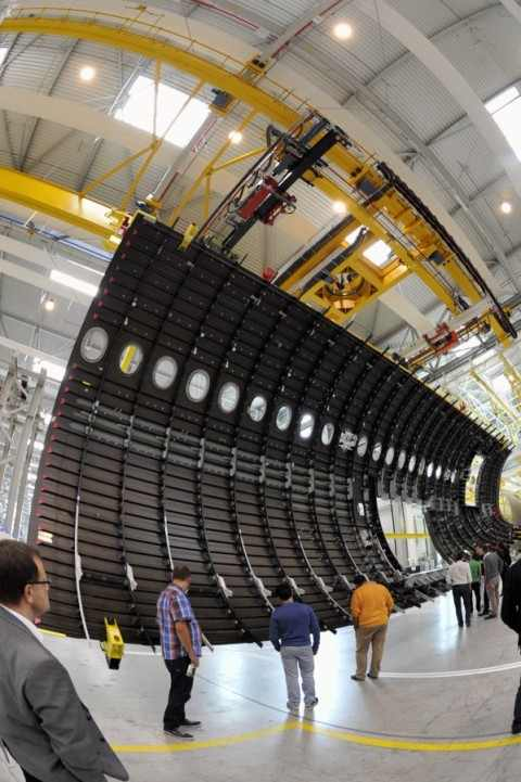 A350 Xwb News Rear Fuselage Side Shells For The First