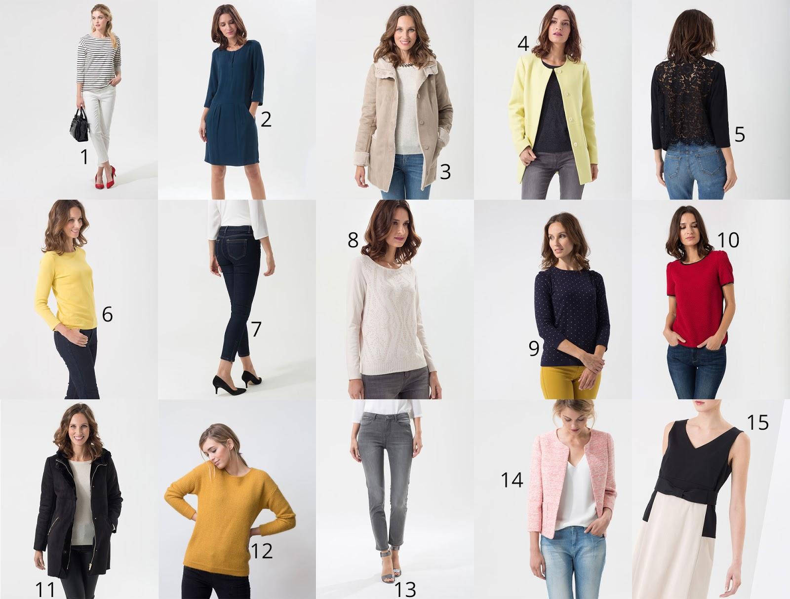 Sélection shopping soldes 123