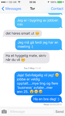 Iphone-Text-messaging-Norwegian