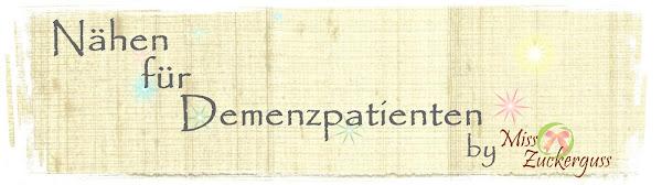 Nähen für Demenzpatienten