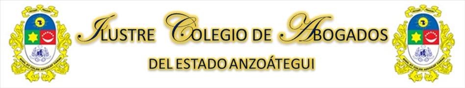 Colegio de Abogados del Estado Anzoátegui