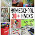 30+ Homeschool Hacks to Save You Time, Money, and Energy