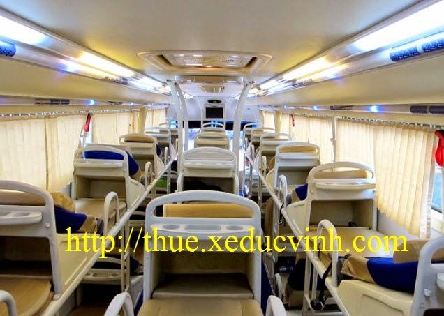 Cho thuê xe giường nằm đi Nha Trang
