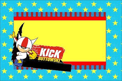 Para Imprimir Gratis: Invitaciones de Kick Buttowski.
