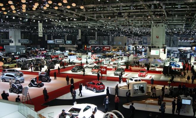 Geneva 2013 show floor