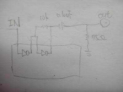 光纖轉同軸電路圖