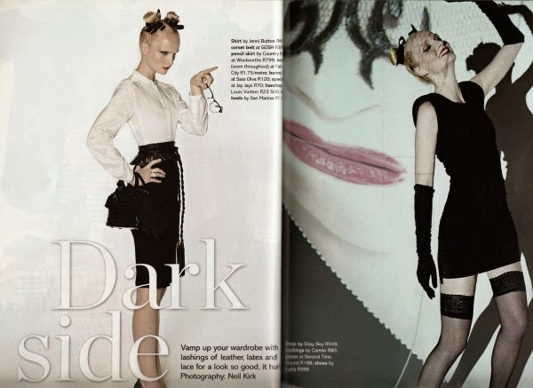 dark side fashion editorial punk