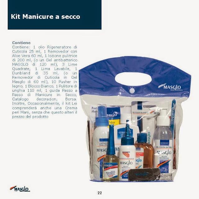 kit manicure a secco masglo