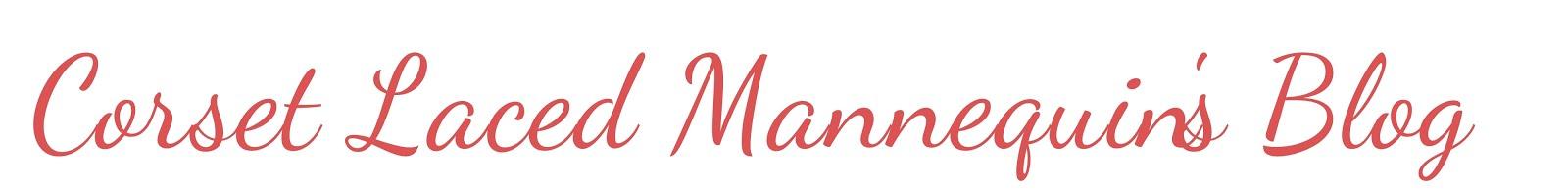 corset laced mannequins {blog}