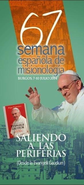 cartel de la semana española de Misionología