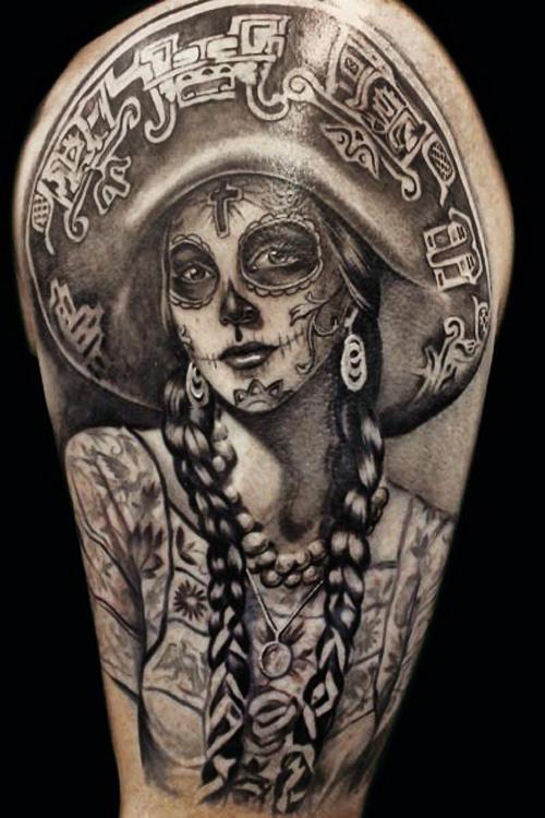 Catrina a Rainha da Festa do Dia dos Mortos ~ Publicitário13