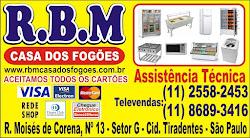 RBM - CASA DOS FOGÕES