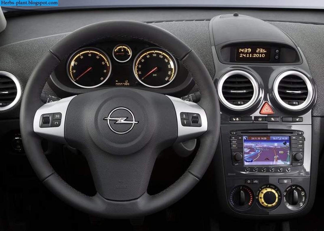 Opel corsa car 2013 dashboard - صور تابلوه سيارة اوبل كورسا 2013