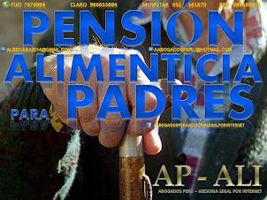 ASESORÍA LEGAL EN DEMANDA DE ALIMENTOS PARA PADRES