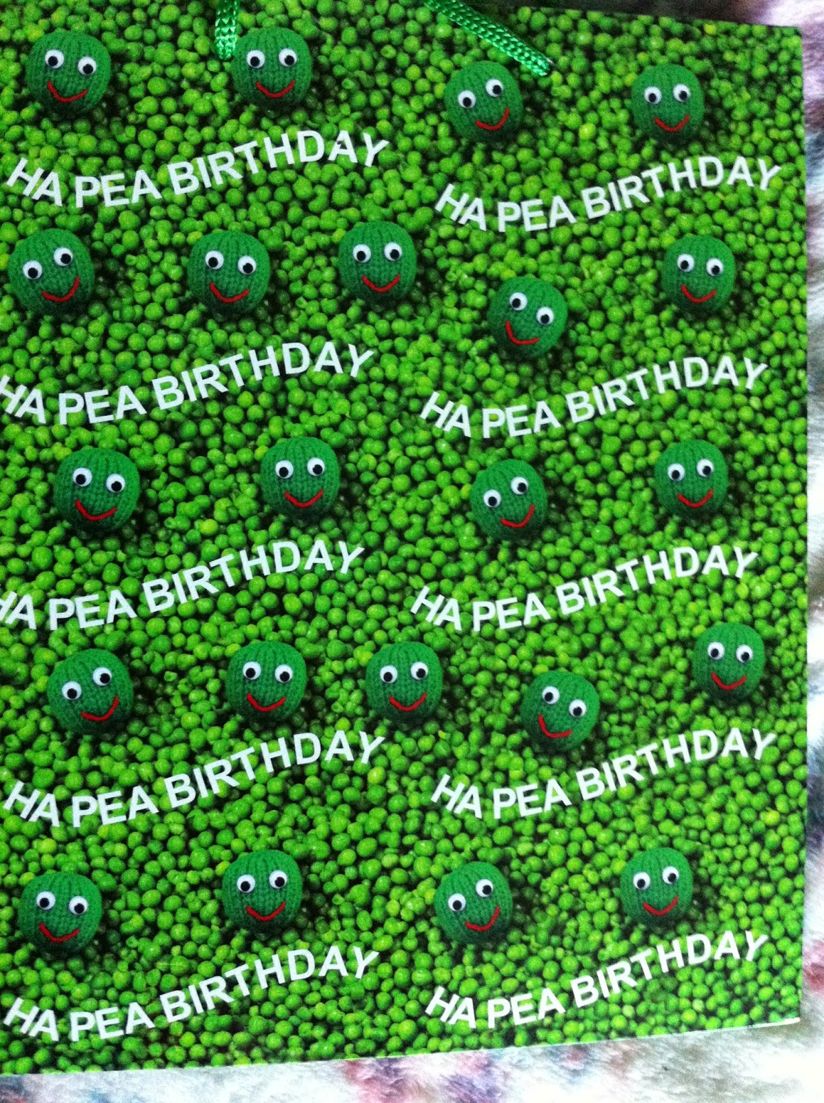 Ha Pea Birthday Bag