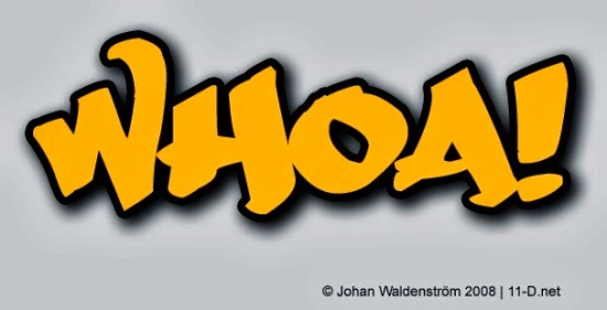 Free Graffiti Fonts - Whoa!