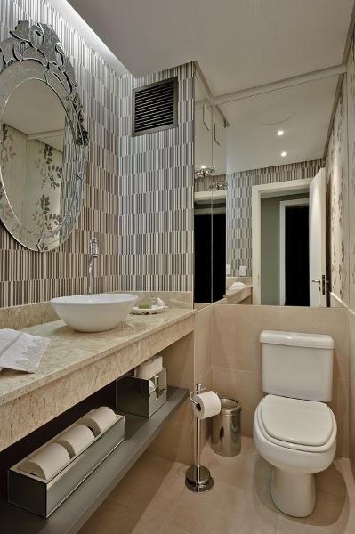 decoracao lavabo papel de parede : decoracao lavabo papel de parede:BLOG DA FELINA: Lavabo com papel de parede