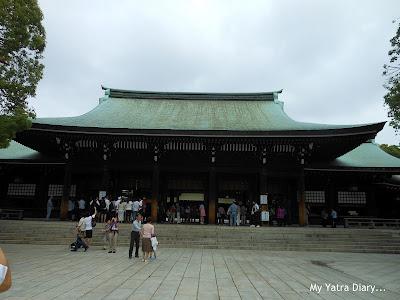 The Meiji Jingu Shrine, Tokyo