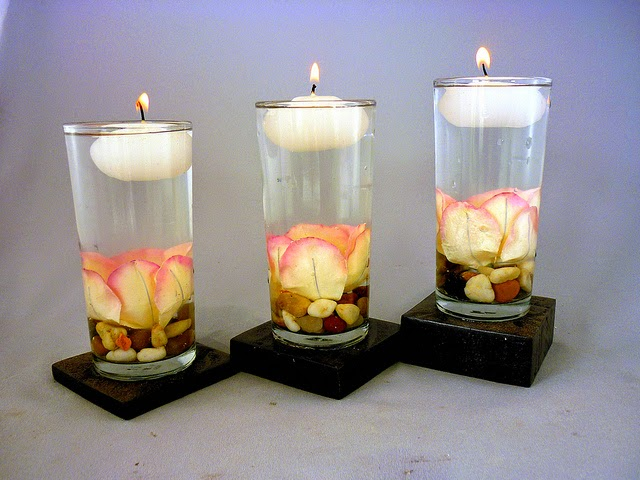 Bordados Y Detalles Artesanales - Decorar-velas-con-servilletas