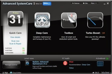 Download Advanced SystemCare PRO 7 Full Version