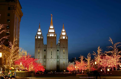 Temple Square, Salt Lake City, UT