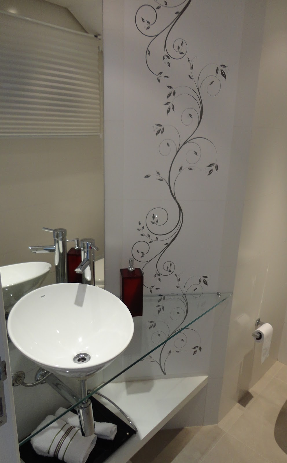 Rosita Arquiteta Casa em Condominio ImbéRS  2 -> Banheiro Decorado Com Revestimento Eliane