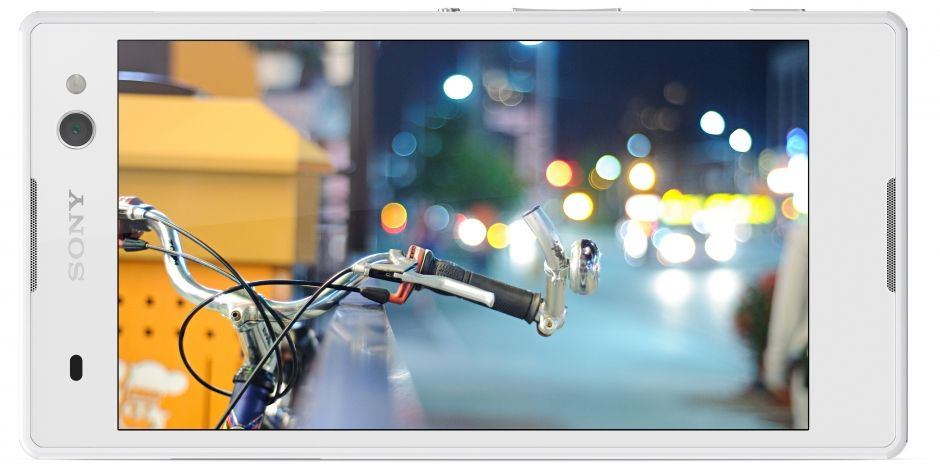 Desain dan Layar Sony Xperia C3