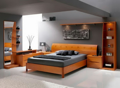 Cuarto con paredes color gris