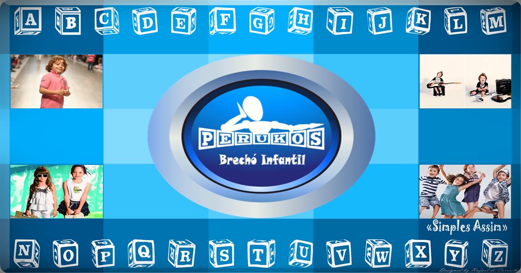"Perukos Brechó Infantil ""Simples Assim"""