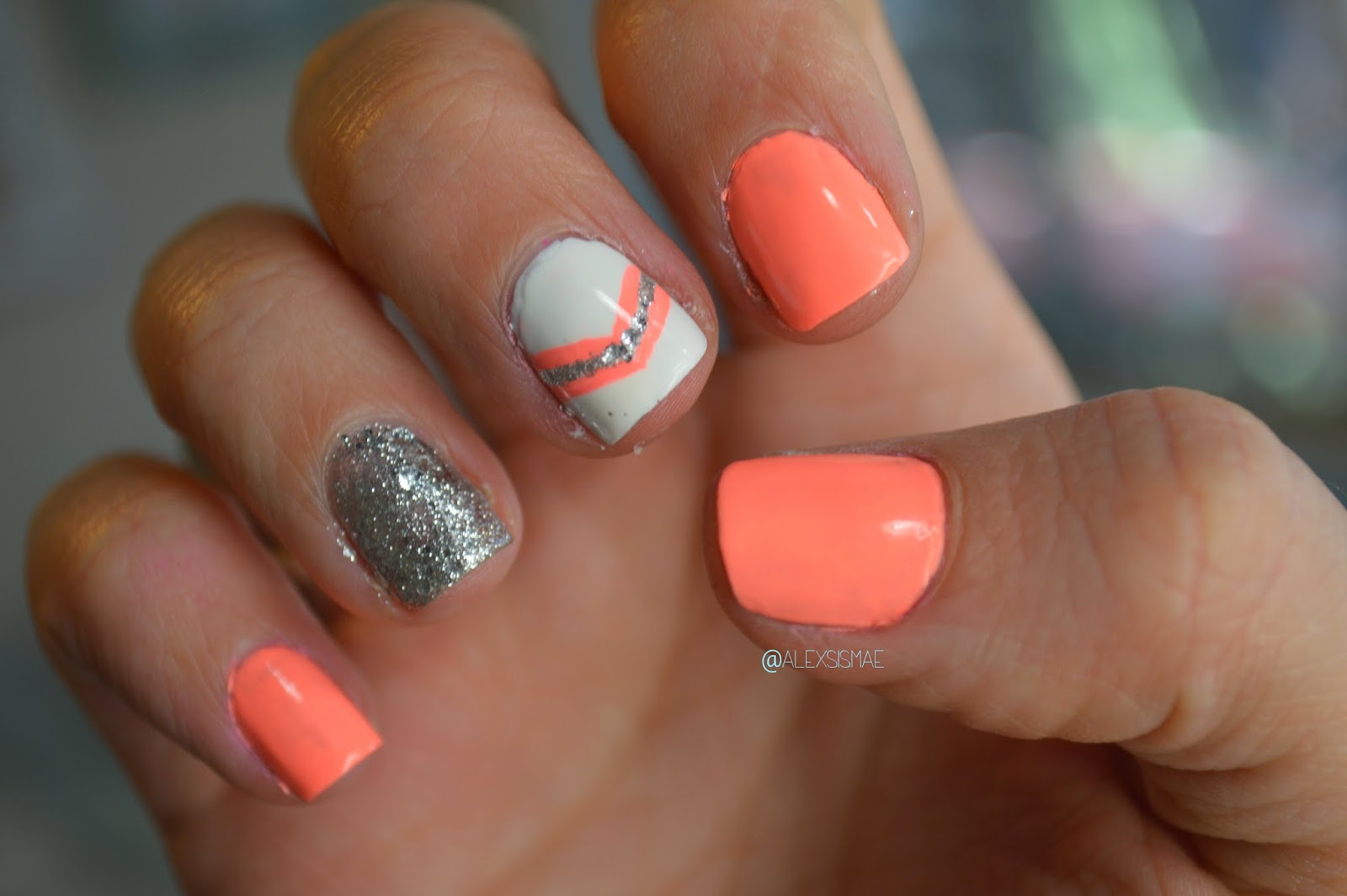 Spring nail designs with glitter : What polish colors will you be breaking out for spring