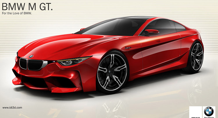 New Bmw M Gt Design Concept Thoughts