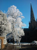 Lichfield in the frost