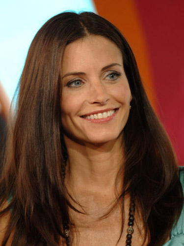 Courteney Cox Black Long Hairstyles for Sleek Hair advise