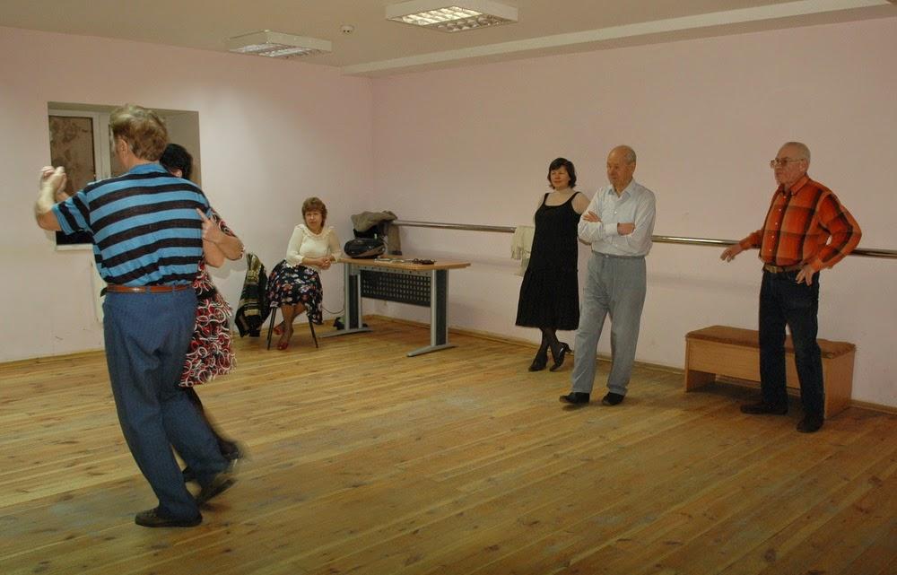 занятия с учителем танцев